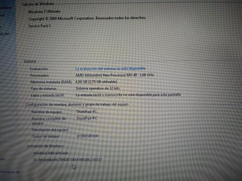 netbook lenovo x100e