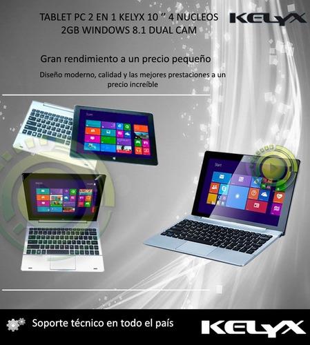 netbook-tablet 2en1 m1021 kelyx 10'- 2gb ram 32gb  hdmi win8