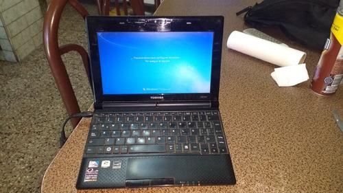 netbook toshiba nb505 usada en perfecto estado con cargador