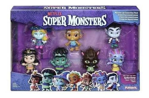netflix súper monstruos figuras monstruos arriba colección 7