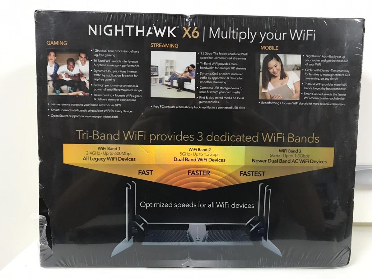 Netgear Nighthawk X6 R8000 Ac3200 R8000 20% Off