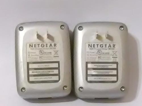 netgear wall plugged bridge xe102 envio gratis