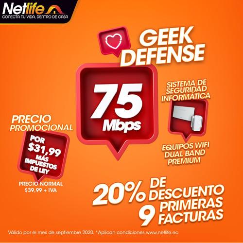 netlife internet fibra optica de ultra alta velocidad