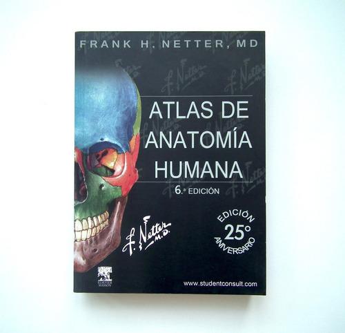 netter 6ta edición + cd- atlas de anatomía - envío gratis