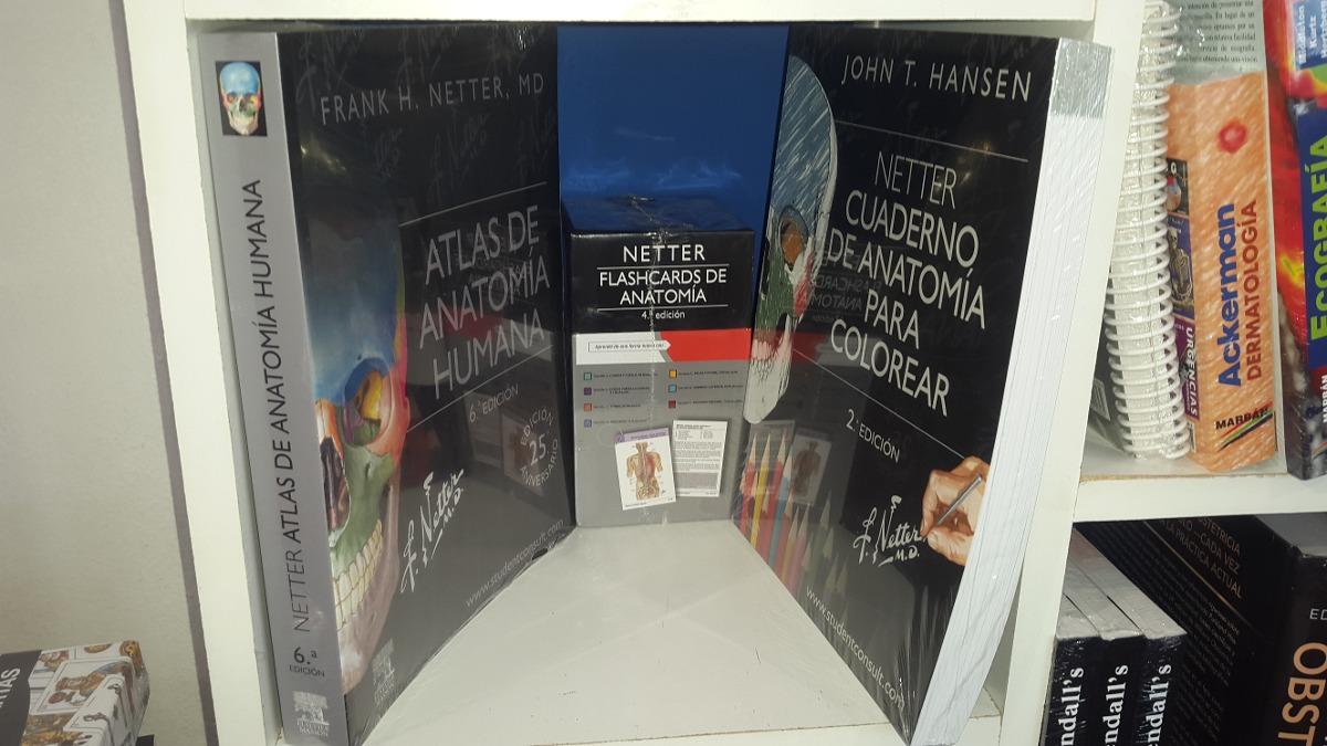 Netter Atlas De Anatomia + Flashcards + Colorear - $ 6.800,00 en ...
