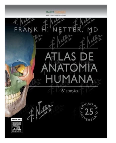 netter - atlas de anatomia humana - 6ª ed. 2015