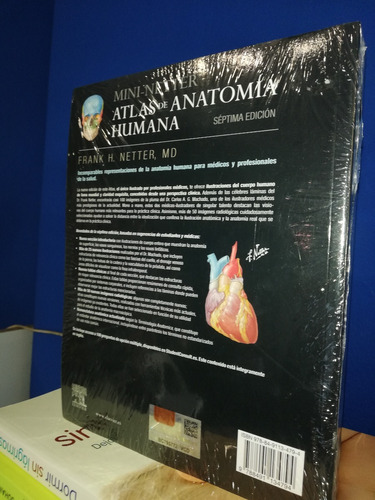 netter atlas de anatomía humana 7ª ed mini bolsillo original