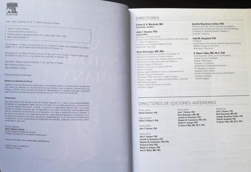 netter atlas de anatomía humana 7ma edición mini - elsevier