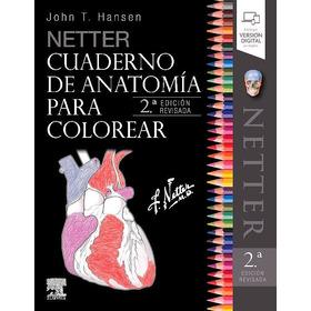 Netter. Cuaderno De Anatomía Para Colorear 2ed Original