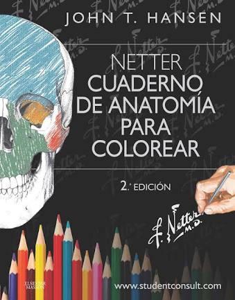 netter cuaderno para colorear pdf español 2da edición