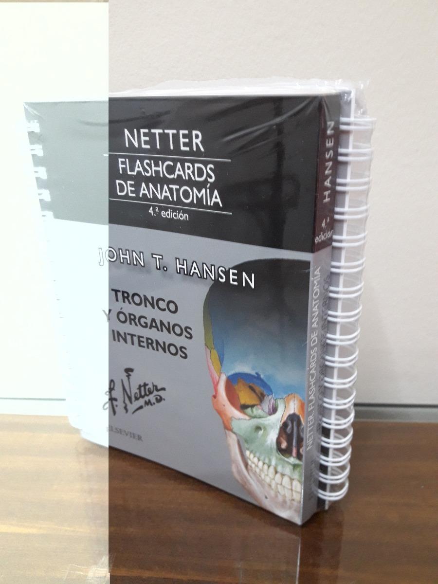 Netter Flashcards De Anatomia 4º Edicion 1 130 00 En Mercado