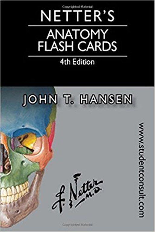 Netter Flashcards De Anatomia 4 Edicion / John T. Hansen - $ 109.000 ...