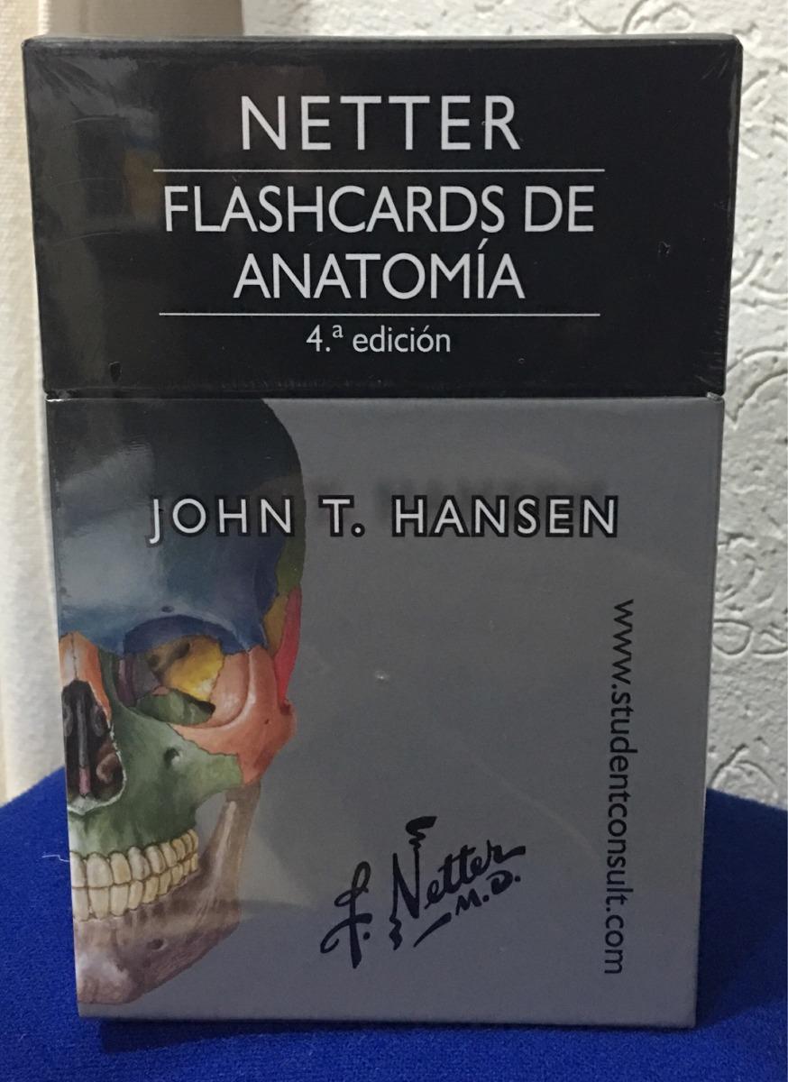 Netter, Flashcards De Anatomía. Envío Gratis!!! - $ 765.00 en ...