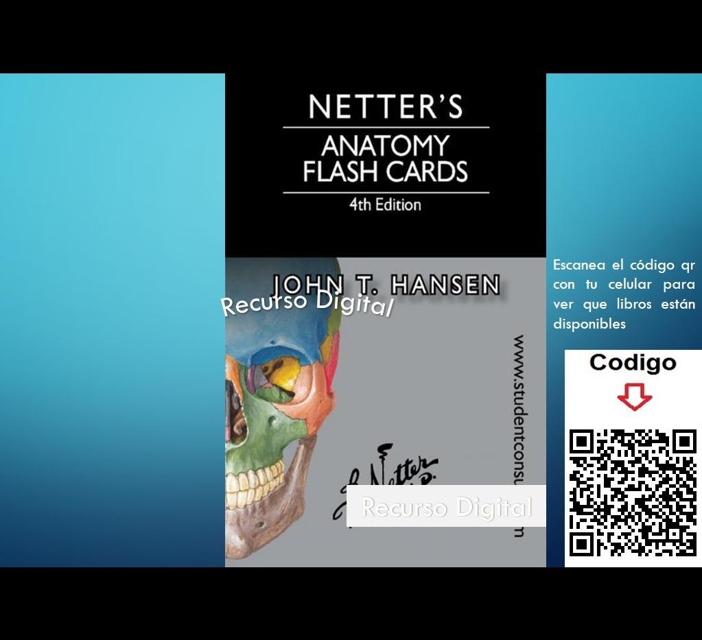 Netter\'s - Anatomy Flash Cards - 4ta Ed- - $ 45.00 en Mercado Libre
