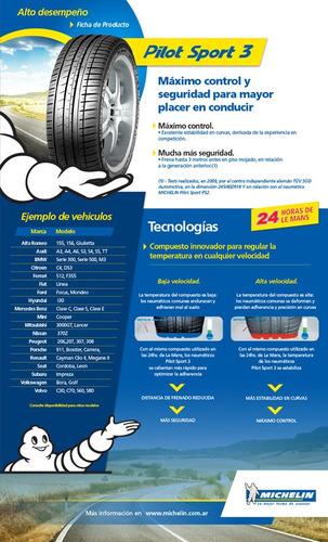 neumático 205/45-17 michelin pilot sport 3 88 v