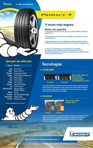 neumático 205/55-16 michelin primacy 3 91v