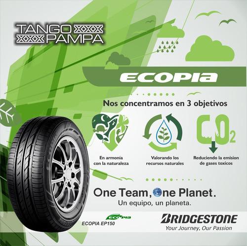neumático 205/60 r16 92h bridgestone ecopia ep 150 envío $0