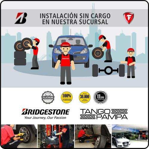 neumático 225/45 r17 91wturanza t005 bridgestone envío $0