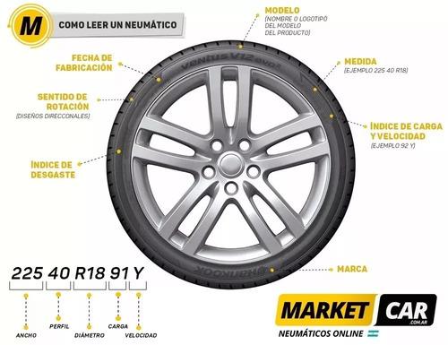 neumático bridgestone 205 60 r16 92v turanza er300 18 pagos