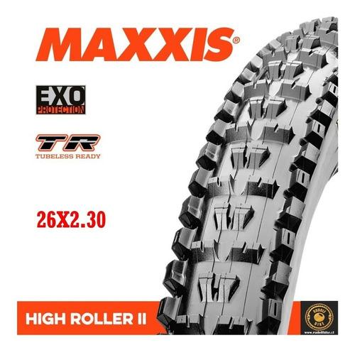 neumático maxxis high roller ii exo / tr 26x2.30 kevlar