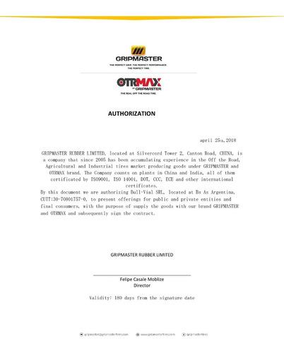 neumatico otrmax 12.5/80-18 12pr tl r4 otm1