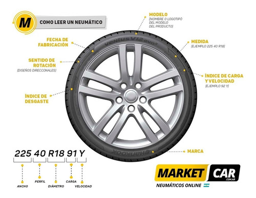 neumático yokohama 205 60 r16 92h bluearth es32