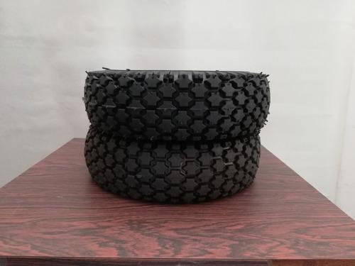 neumáticos para carruchas y carretillas 4 lonas (32 libras)