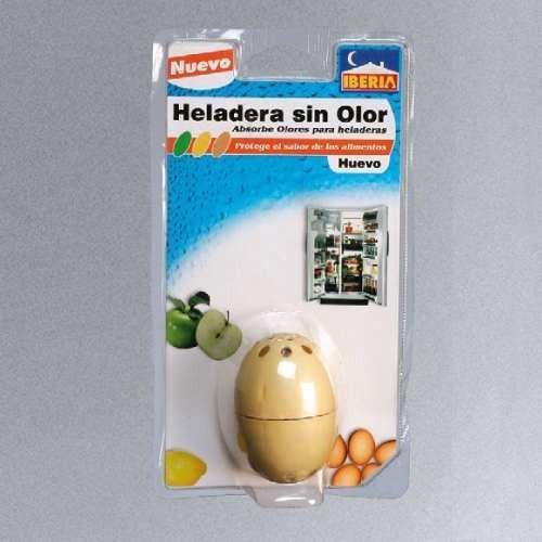 neutralizador absorbe olor heladera huevito iberia aire x 2