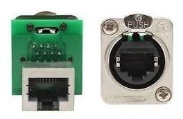 neutrik ne8fdp ficha conector ethercon a chasis rj45