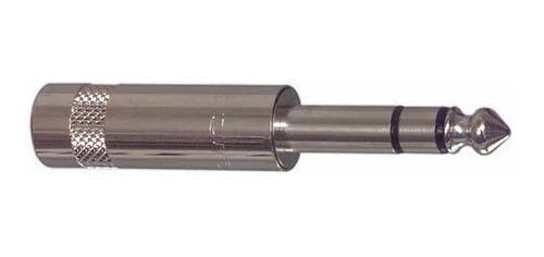 neutrik rean nys202 conector ficha plug 1/4 stereo trs metal