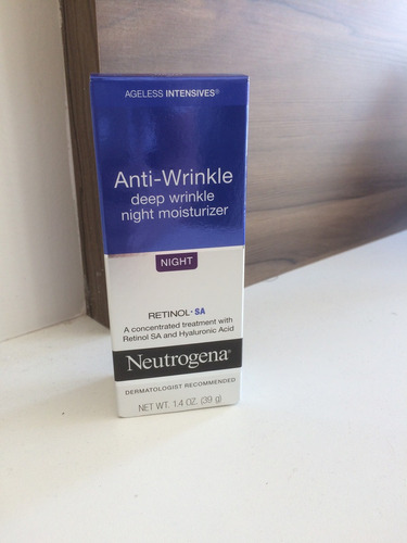 neutrogena anti rugas creme noite deep wrinkle retinol 39g