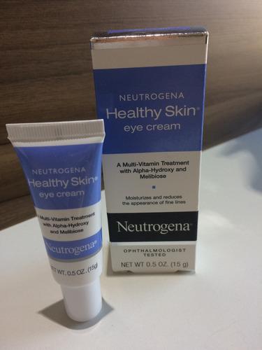 neutrogena anti wrinkle creme anti rugas area dos olhos 15g