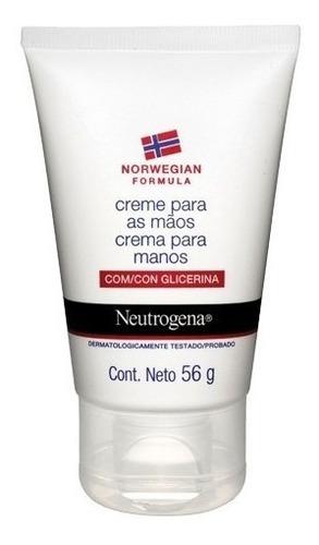 neutrogena crema hidratante para manos fórmula noruega x 56g