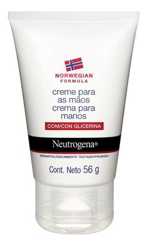 neutrógena crema hidratante para manos fórmula norwegian 56g