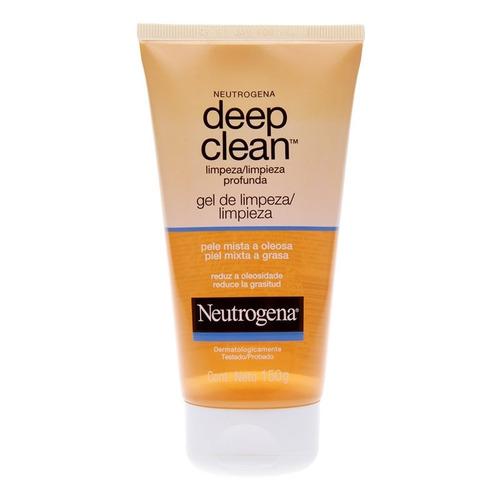 neutrogena deep clean gel de limpeza profunda - 150g