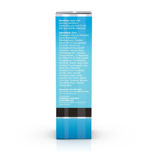 neutrogena hydro boost multivitamínico suero hidratante y