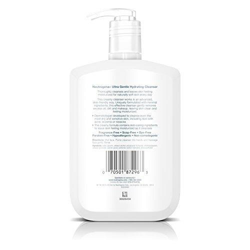 neutrogena limpiador hidratante ultra suave