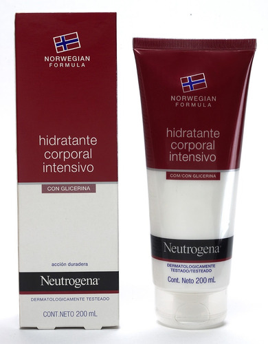 neutrogena norwegian hidratante corporal intensivo sem perfu