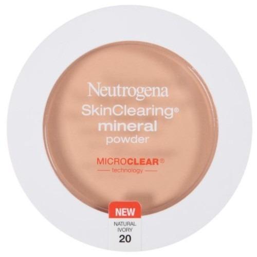 neutrogena skinclearing mineral powder, soft beige 50 [soft