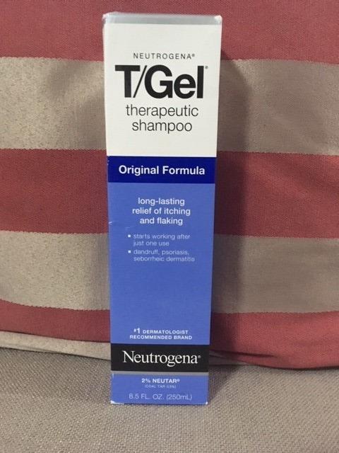 Neutrogena T Gel Shampoo 250ml Psoriasis Dermatite Caspa