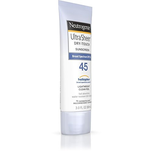 neutrogena ultra sheer dry-touch sunscreen amplio espectro