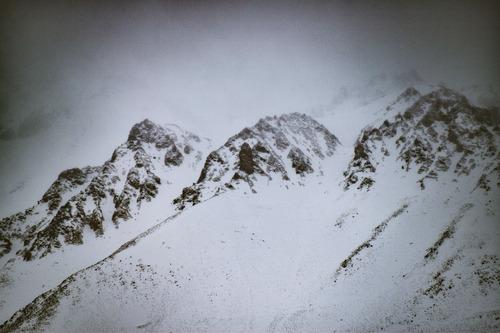 nevada en los andes