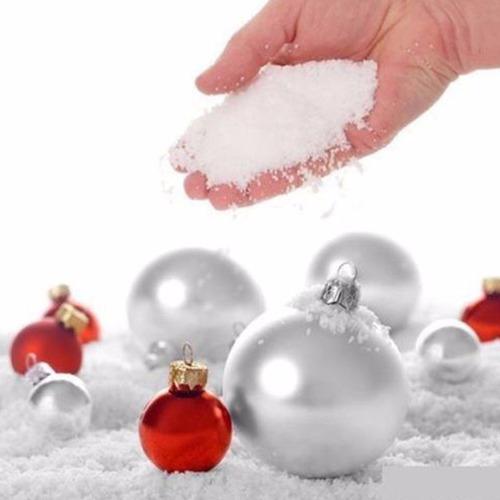 neve artificial mágica frozen festa decoração jelly natal 10