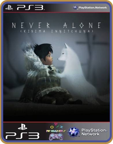 never alone (kisima ingitchuna) psn ps3 - mídia digital