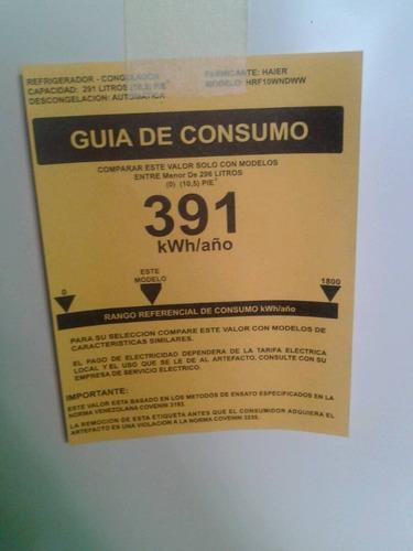 nevera 10.5 pies nueva