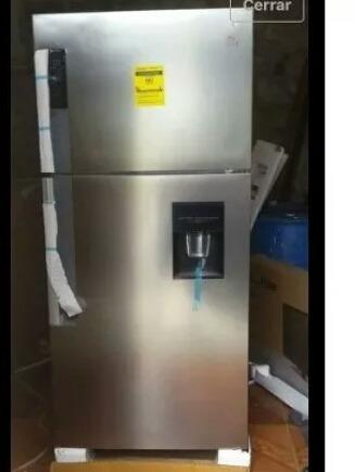 nevera 19 pies. dispensador de agua y panel digital nuevo.
