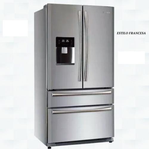 nevera 22 pies 4 puertas con frigorifico (nueva de paquete)