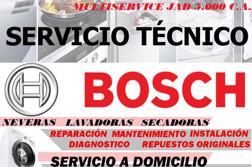 nevera bosch servicio técnico repuestos lavadoras secad