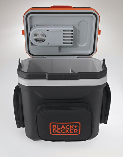 nevera carro 24 litros + gratis recipientes black + decker