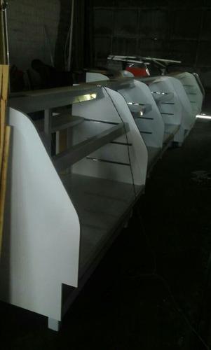 nevera charcutera vidrio curvo